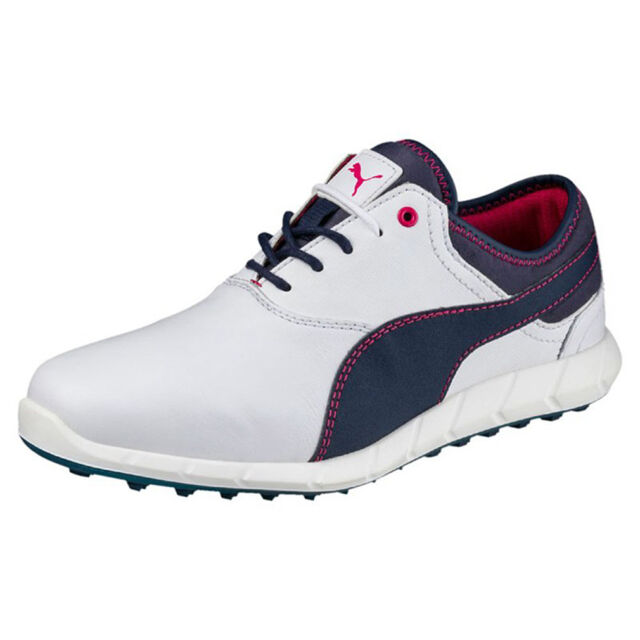 Puma Ignite Golf Spikeless Ladies Golf Shoese Golf Leather White 189109 04 a6f754bb0