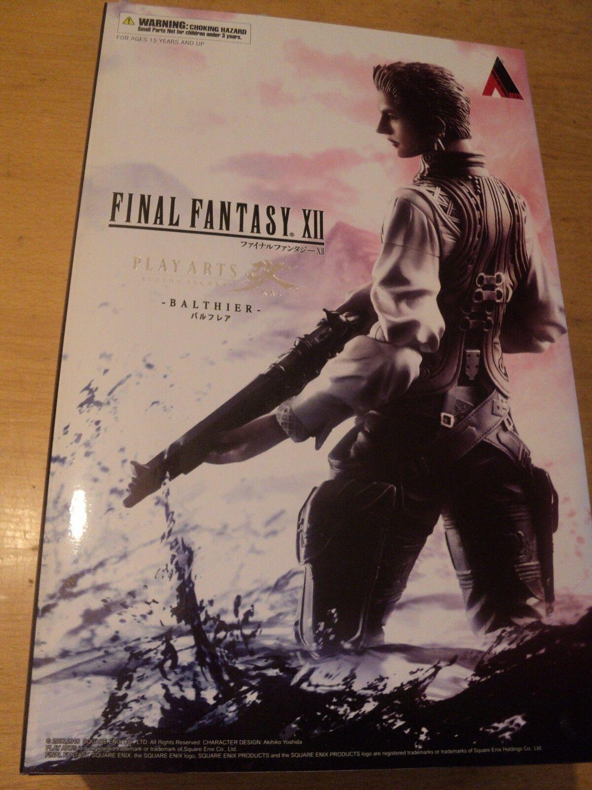Square Enix Final Fantasy XII 12 Balthier Play Arts Kai Figure-Neuf Scellé