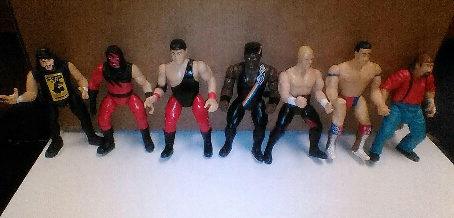 estilo clásico WWF Raw is War Jakks Pacific 1997 1997 1997 Vintage Lote De Figuras Wcw Wwe Nwo AEW Ecw Tna NXT  precios ultra bajos