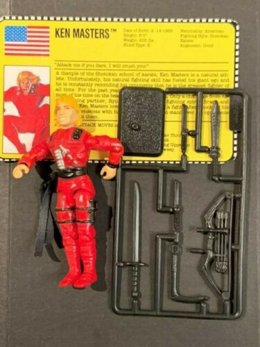 GI JOE Street Fighter 2 Ken Masters series 12 1993