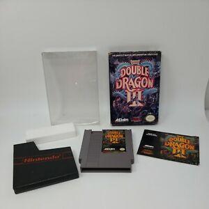 Double-Dragon-III-3-Nintendo-NES-1990-Complete-CIB-Tested-Great-Condition