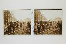 Place Ecole Militaire Paris France Plaque stereo 1925