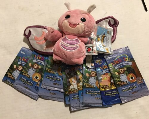 Webkinz Zumbuddy Zreth With 10 Bonus Card Packs With Online Codes