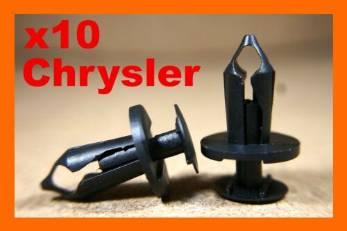 For Chrysler 10 engine under carriage cover tray fastener shield clips