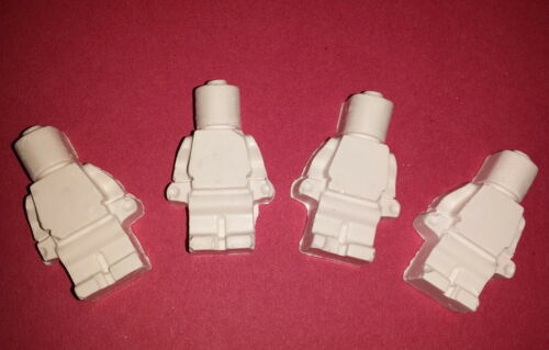 40 Mini-men Reactive Shooting Targets Air Rifle Airsoft BB Chalk//Clay