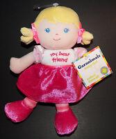 Garanimals Blond Baby Doll Girl Lovey 8 Plush My Best Friend Pink Dress
