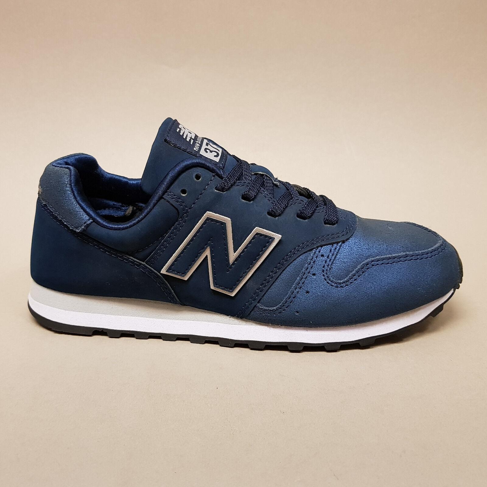 New Balance Classics WL373NS Navy Turnschuhe Sneakers blau metallic Leder Gr. 39