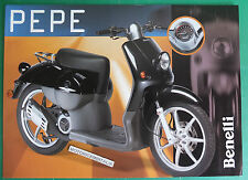 BENELLI PEPE 50  SCOOTER  SCOOTER  BROCHURE DEPLIANT RECLAME