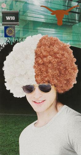 University of Texas Austin Wig Halloween Accessory