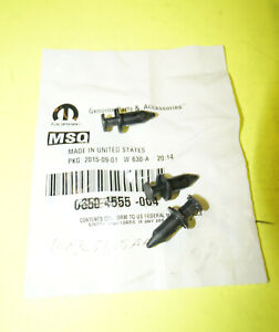Genuine Lower Deflector Retainer *Pack of 4* W713661-S300