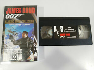007-James-Bond-Al-Servizio-De-His-George-Lazenby-VHS-Tape-Castellano
