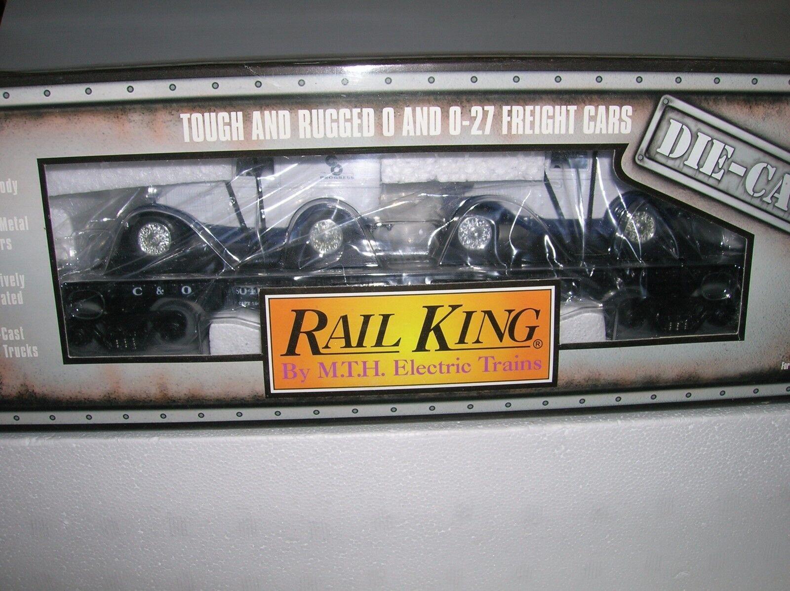 MTH   Auto Tran. Flat Die Cast      C&O '32 Vans   30-8304 Lot   10680