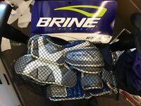 Brine Rogue Sp Lacrosse Shoulder Pads Size Small