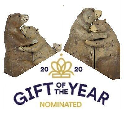 Bear Love Hug Couple Family Ornament Figurine Ebay