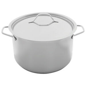 Paderno 5l Dutch Oven With Cover Stainless Steel Ebay