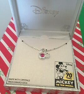 DISNEY-MICKEY-MOUSE-90TH-ANNIVERSARY-NECKLACE-WITH-SWAROVSKI-CRYSTAL