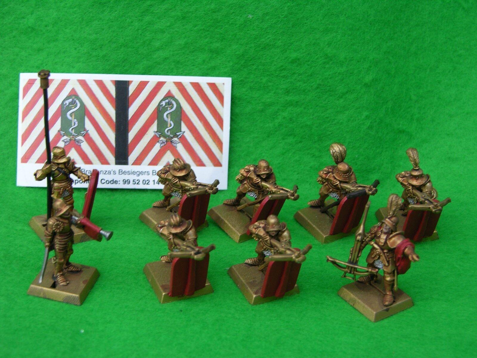 Warhammer Los Perros de la guerra, regimiento de renombre, Braganza's sitiadores