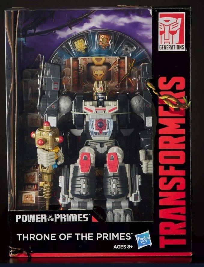 Sdcc 2018 Hasbro Transformers Generaciones poder del modelo PRIMES Optimus Prime  B