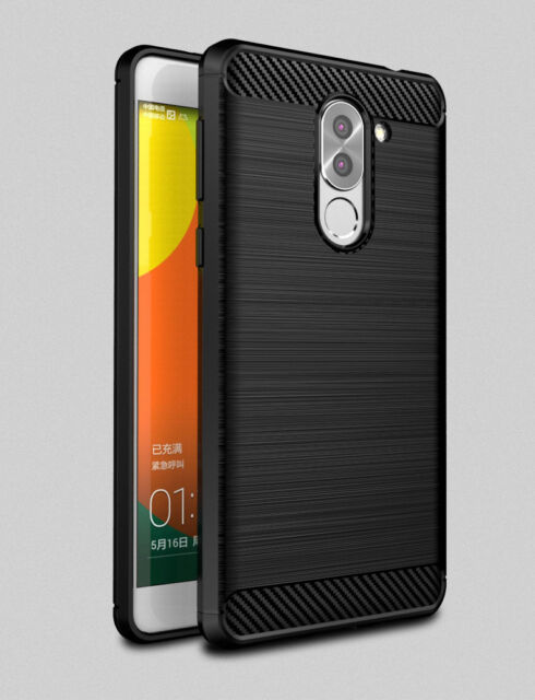 low priced 6eae4 ca573 Ultra Slim Carbon Fiber Soft TPU Brushed Case Cover Huawei Gr5 2017 | Honor  6x