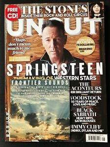 UNCUT MAGAZINE 267 AUG 2019 Bruce Springsteen, Rolling Stones, Raconteurs + CD