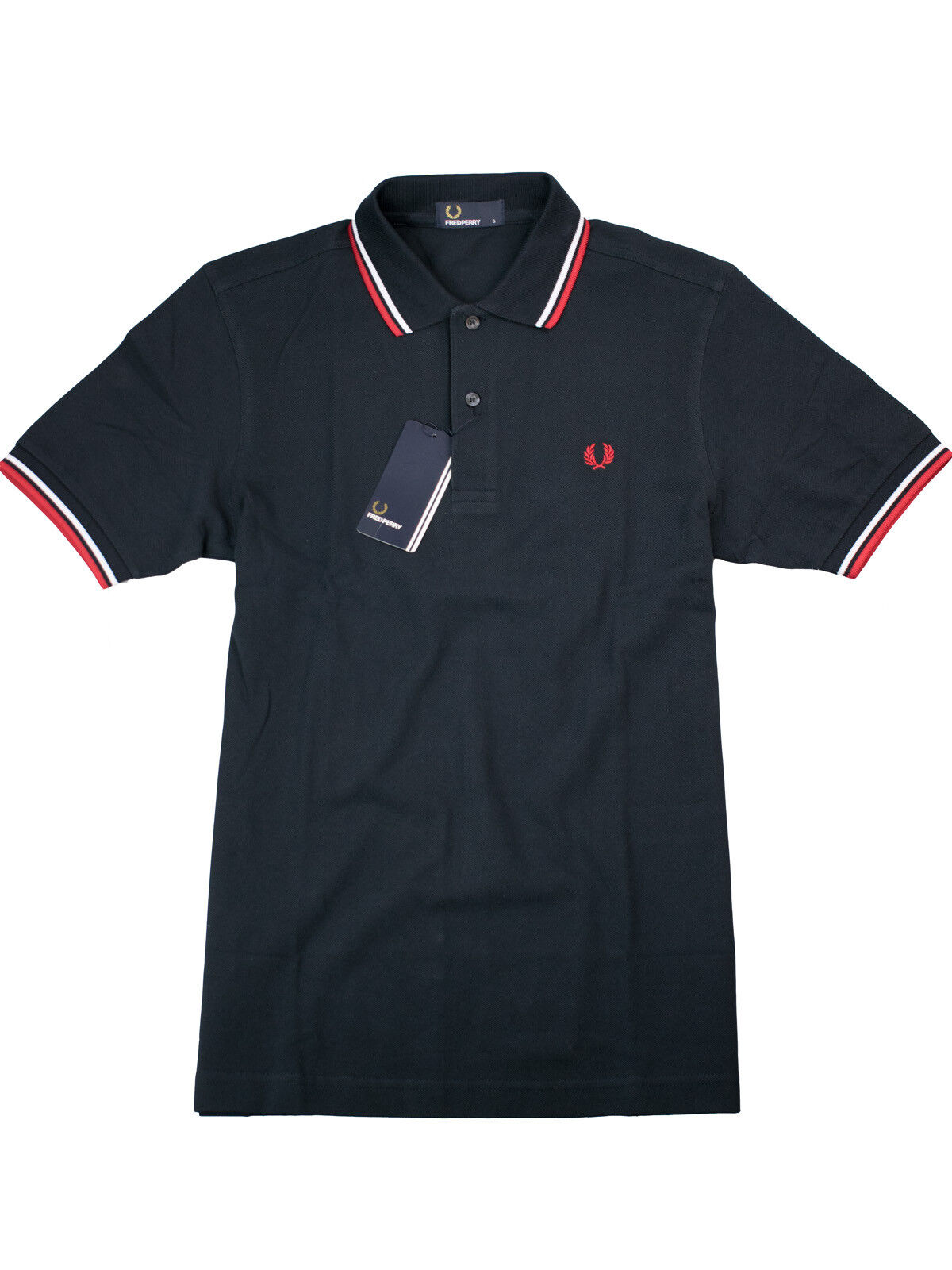 FROT Perry Polo Shirt Poloshirt M1200 471 Navy / Rot / Weiß  5400
