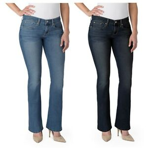 6fd9d4185b27 Signature by Levi Strauss   Co. Womens Curvy Bootcut Jeans Stretch ...
