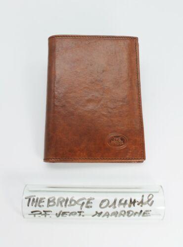 Pelle Marrone The Bridge Portafoglio//Documenti Verticale Uomo Cod.014412