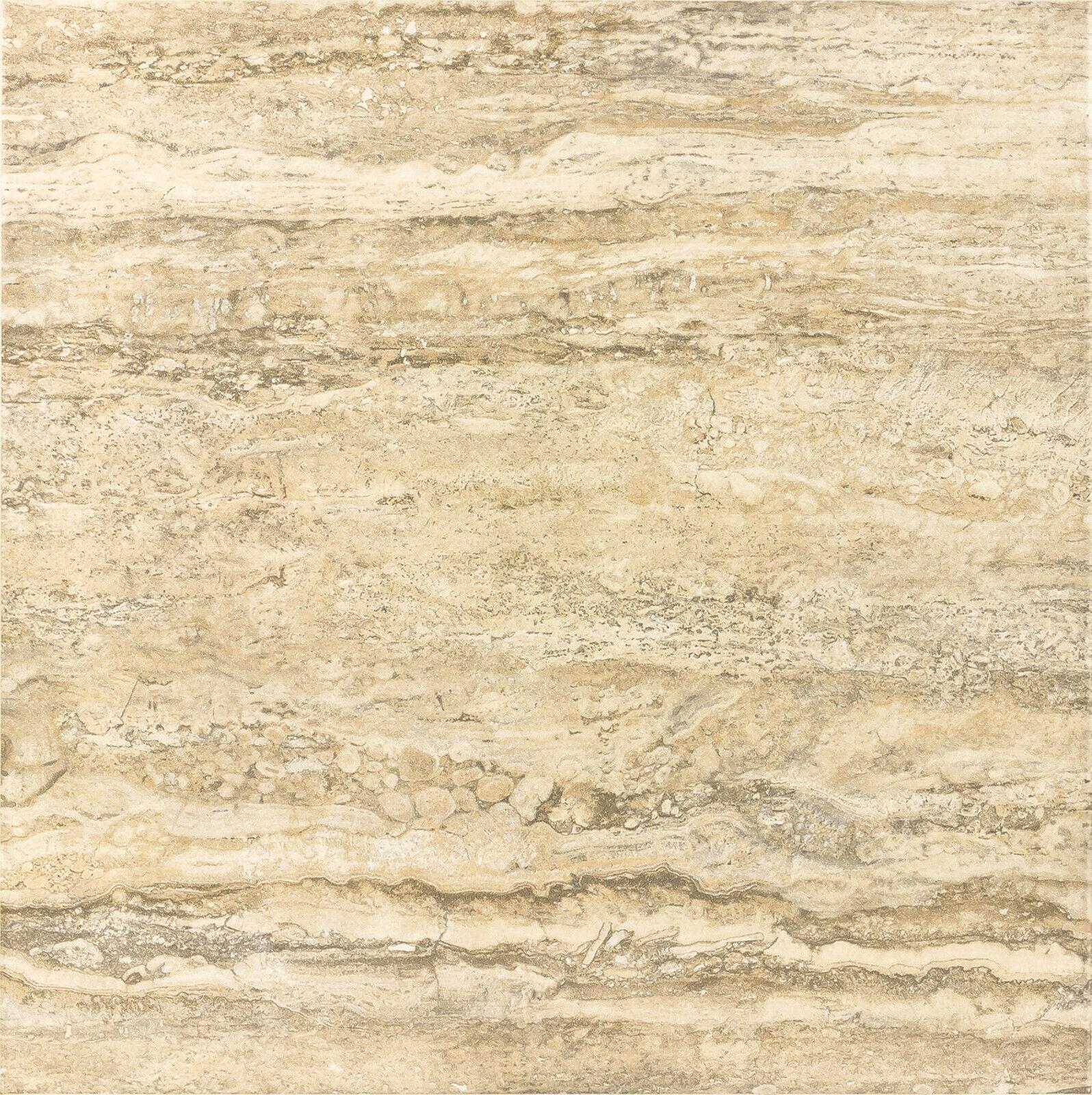 PAMESA Ceramica PADUA BEIGE 18  x 18  Matte Porcelain Floor Tile- 6 per Box