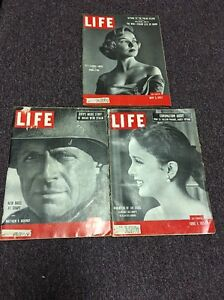 Lot-Of-3-Life-Magazines-May-7-12-1952-June-1-1953-Diana-Lynn-Queen-Elizabeth