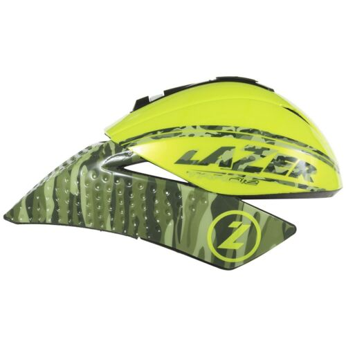 Lazer tardiz incl visir Triathlon tiempo conducir casco Flash camo Yellow l 58-61 cm