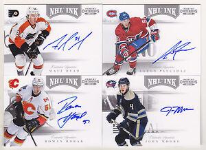 11-12-Panini-Contenders-Matt-Read-Auto-NHL-Ink-Autograph-2011-Flyers