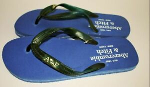Abercrombie-amp-Fitch-Flip-Flops-Blue-Size-8-BNWT