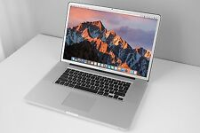 "RARE 17"" Apple MacBook Pro 2.5GHz Core i7 240GB SSD 8GB RAM Anti-Glare DUAL GFX"