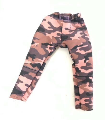 Marvel Legends Red 1//12 scale Camo Pants for Mezco One:12 SU-MPT-R