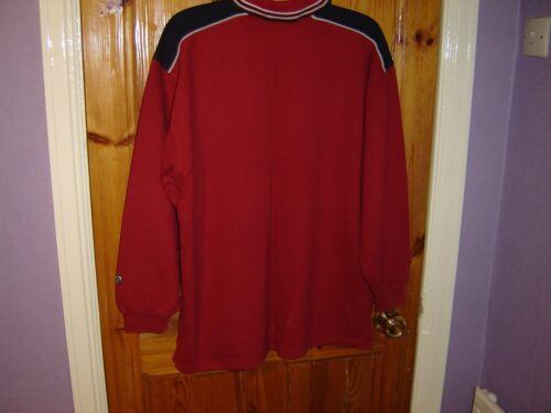 Sweatshirt 44 Sudadera Autᄄᆭntico claret Vintage Burgundy Claret Vintage Medium 44 Medio Fila Mens Borgoa Fila Authentic Hombres wta7qw