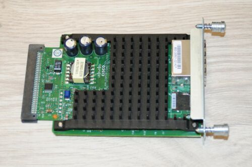 QTY AVAILABLE Cisco VIC3-2FXS//DID 2 Port High Density Voice Interface Card
