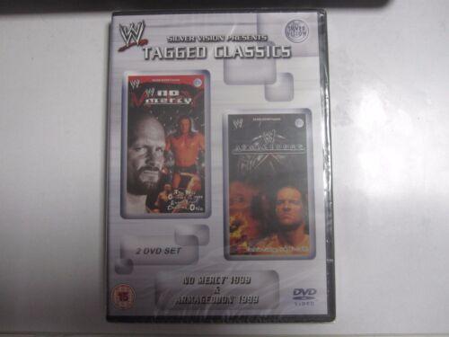 1 of 1 - NEW & SEALED WWE Tagged Classics - No Mercy/Armageddon 1999 DVD REGION 2 WWF 99