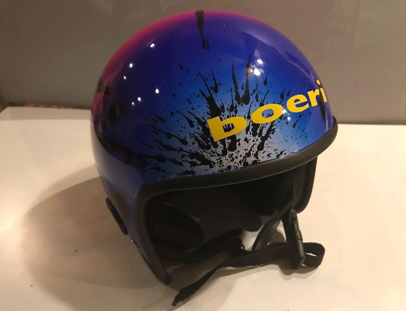 BOERI Snowboard Ski Helmet  ld  M Sprint Confetti Paint Splatter NOS Ships Free  60% off