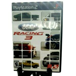 Ford-Racing-3-Sony-PlayStation-2-PS2-Complete-Game-Case-And-Manual-Black-Label