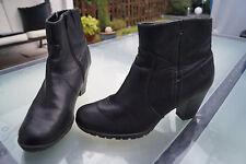 JANA Damen Winter Schuhe Stiefel Stiefelette Boots Absatz Gr.7 G 40,5 Leder #97
