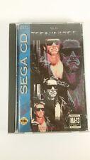 The Terminator (Sega CD, 1993) CIB complete