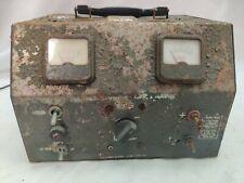 Vintage Eico Low Ripple Battery Eliminator And Charger Model 1060 12v10a 6v20a