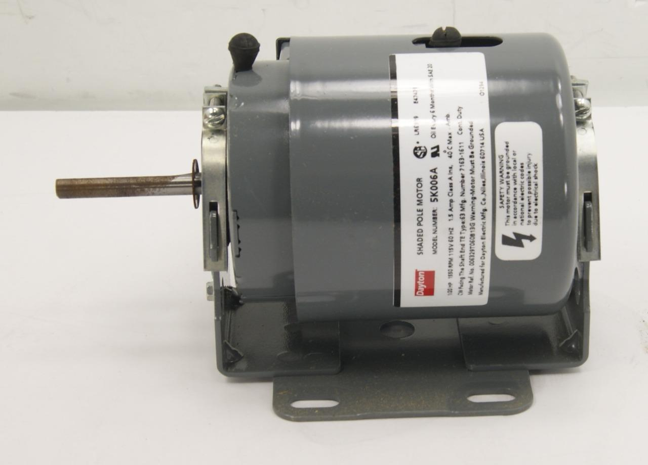 Dayton 5k006a Motor 1 20 Hp 5 18 Shaft Cw Rotation Fs Ebay Electric Company Norton Secured Powered By Verisign