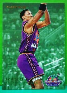 Scottie Pippen insert card All-Star 1995-96 Fleer #2
