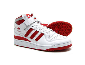 Adidas Shoes White And Red