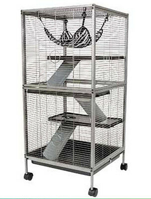 "Ware Living Room Series Ferret Cage Home. 20.5"" x 20.5"" x 44.5"""