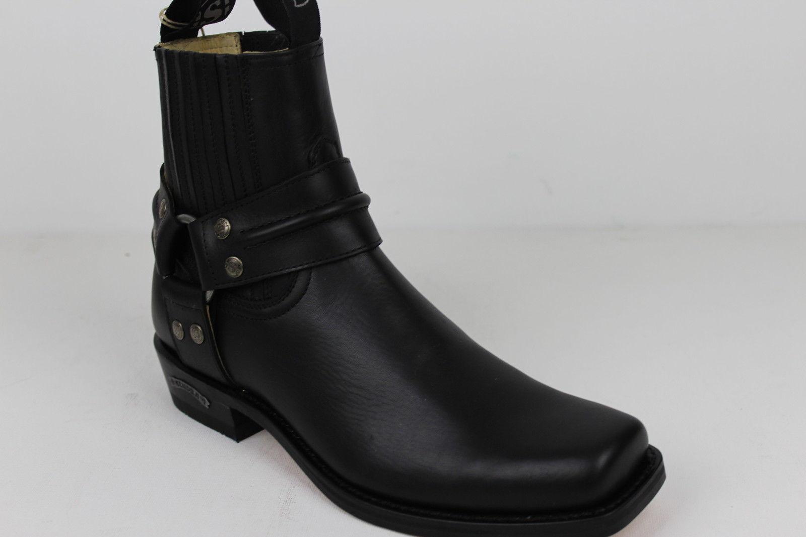 Sendra botas botas vaqueras botas Western botas motocicleta botas Sendra motorista 2746 negro 6a4c3d