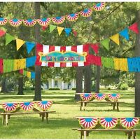 Carnival Themed Giant Decorating Kit Birthday Party Bbq Fun Event Colorful