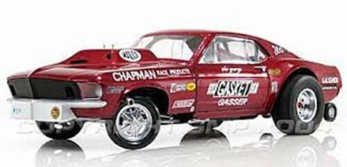 Ohio George Mr Gasket Mustang Gasser 1//64th HO Scale Slot Car Decals NHRA DRAG
