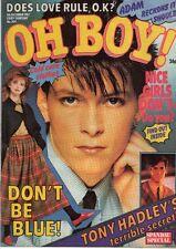 Oh Boy! Magazine 4 December 1982 No. 304 Tony Hadley of Spandau Ballet  Ultravox